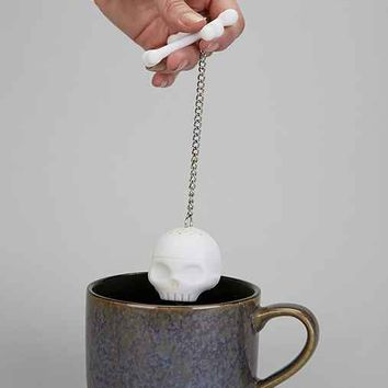 Tea Bones Tea Infuser- White One