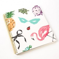 Favorite Things Large Spiral Notebook by Kate Spade New York