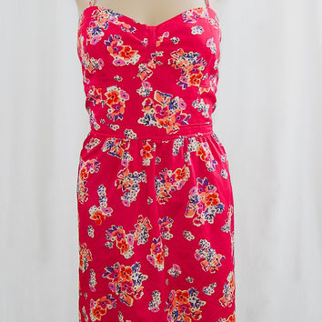 American Eagle Floral Corset Dress - Size 12