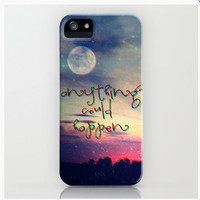 GET YOURS NOW with FREE SHIPPING on  *** ANYTHING COULD HAPPEN *** M✿nika  Strigel	for iphone 5 + 4S + 4 + 3GS + 3 G + skin ipod  | Society6