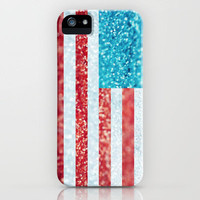 Red, White, and Glitter iPhone Case by Beth - Paper Angels Photography | Society6