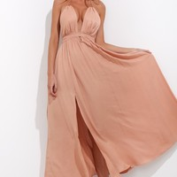 Honorable Maxi Dress Rust