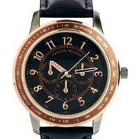 ASOS Watch With Black & Gold Dial