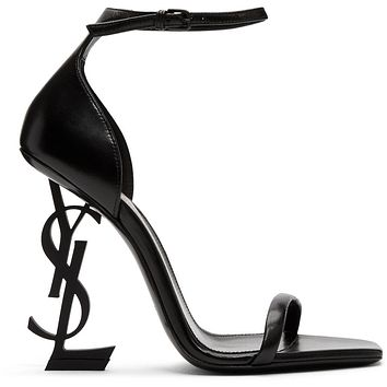 Saint Laurent YSL Logo Fashion classics Heel