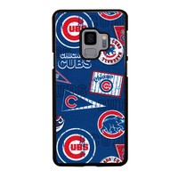 CHICAGO CUBS COLLAGE Samsung Galaxy S4 S5 S6 S7 S8 S9 Edge Plus Note 3 4 5 8 Case Cover