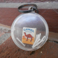 Vintage Camel Keychain Puzzle Game. Vintage Americana Collectable.