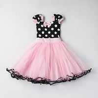 Summer Kids Dresses For Girls Cute Baby Pattern Dress Princess Party Costume Clothing Infant Child Clothes