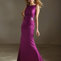Morilee Bridesmaids 688 Satin Fit and Flare Bridesmaid Dress