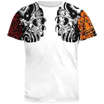 Japanese Shoulder Tattoo All Over Adult T-Shirt
