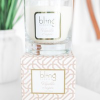 BLING Vanilla Sugar 11 oz Candle