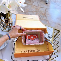 Fashion LV Louis Vuitton Women and Men Wallet Purse Moneybag LV Bumbag