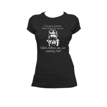 Gimli's What are we waiting for print Ladies or Mens T Shirt,Lord Of The Rings,Nerd Girl Tees
