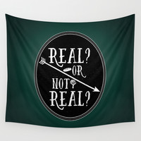 Real Wall Tapestry by Page394