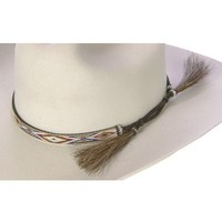 Horsehair Tapestry Hat Band - Sheplers