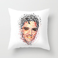 Elvis  Throw Pillow by Msimioni | Society6