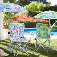 Lilly Pulitzer Freeport Chair & Umbrella