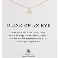 Dogeared Blink of an Eye Necklace, 16""