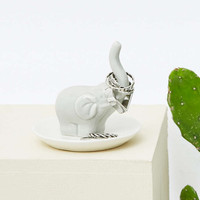 Elephant Trinket Dish - Urban Outfitters
