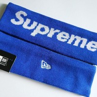 ku-you Supreme Headband head band New Streetwear Hypebeast Fleece