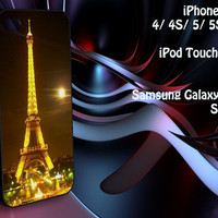 The Eiffel Tower iPhone 4/4S / 5/ 5s/ 5c case, iPod Touch 4 / 5 case, Samsung Galaxy S3/ S4 case