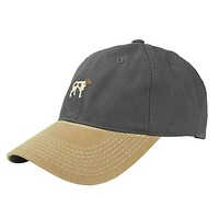 Navy Canvas Hat with Waxed Bill by Southern Point Co.