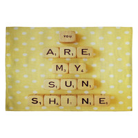 Happee Monkee You Are My Sunshine Woven Rug