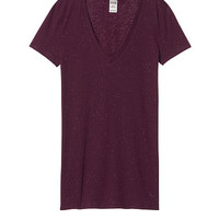 Essential V-Neck Tee - PINK - Victoria's Secret