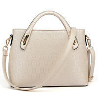 Tote Leather Shoulder Handbag
