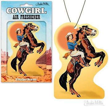 Cowgirl Air Freshener in Cactus Scent