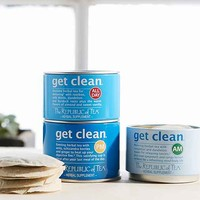 The Republic Of Tea Get Clean Stackable Tea Trio Tin