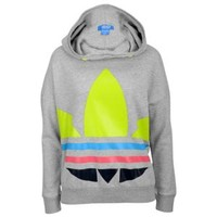 adidas Originals Big Trefoil PO Hoodie - Women's at Foot Locker