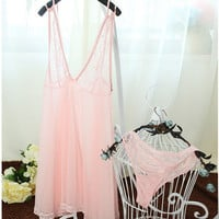 On Sale Hot Deal Cute Lace King Size Dress Plus Size Sexy Sleepwear Exotic Lingerie [4918202820]