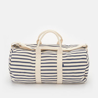 Recycled Canvas Duffel Bag – Sailor Stripe