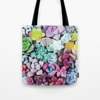 Succulent Love Tote Bag by allisone