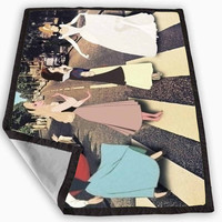 Disney Princess Cross The Abbey Road Blanket for Kids Blanket, Fleece Blanket Cute and Awesome Blanket for your bedding, Blanket fleece *