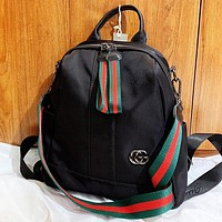 GUCCI New fashion book bag backpack bag handbag Black