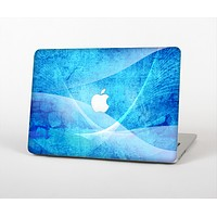 """The Blue Distressed Waves Skin for the Apple MacBook Air 13"""""""