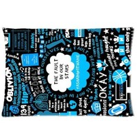 Generic The Fault in Our Stars Custom Zippered Pillow Cases 20x30 One Side