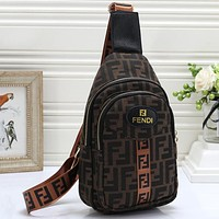 Fendi Women Men Fashion Leather Crossbody Shoulder Backpack Bag