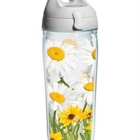 White Daisies Wrap with Lid | Water Bottle | Tervis®