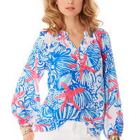 Elsa Top - She She Shells - Lilly Pulitzer