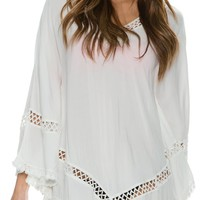 SWELL DESERT SUMMER PONCHO DRESS