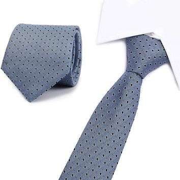 Fashion Blue Yellow & Brown & Gold Paisley Tie 8cm Classic Blue Silk Neck Ties For Men Business Red Wedding Necktie 18 Colors