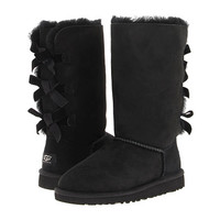 UGG Kids Bailey Bow Tall (Little Kid/Big Kid) - Zappos Exclusive Black - Zappos.com Free Shipping BOTH Ways