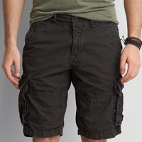 AEO Active Flex Classic Length Cargo Short , Banana | American Eagle Outfitters