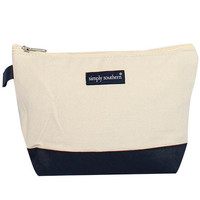 Simply Southern Canvas Cosmetic Bag
