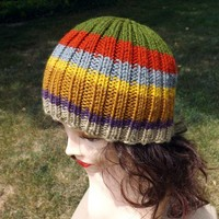 The Doctor Who Hat - Inspired by Tom Baker Scarf 4th Doctor BBC