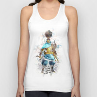 Death is like the Wind Unisex Tank Top by naumovski
