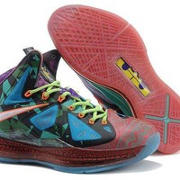DCCKL8A Jacklish Nike Lebron 10 (x) What The Mvp Cheap Online For Sale