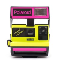 Fluorescent Polaroid 600 Analog Instant Camera - Cool Cam Neon